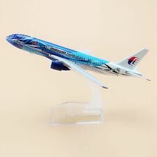 Air Malaysia Freedom of Space Boeing 777 B777 Aircraft Airplane Model Plane 16cm