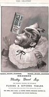 Brookes Soap.1895.Graphic.Advert.Monkey Brand. Cleaning.Monkey.Original