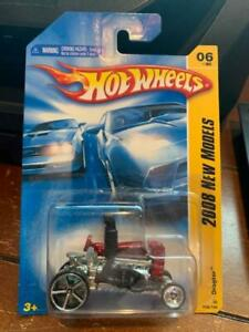 2008 Hot Wheels New Models Dragtor #6 Red