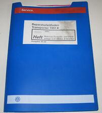 Werkstatthandbuch VW Transporter T4 Motronic 2,8l Motor 4 Ventiler Stand 2000!