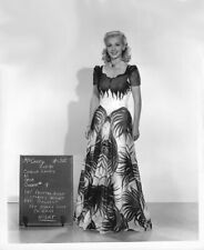 CAROLE LANDIS WARDROBE TEST FOR MOVIE ROLE