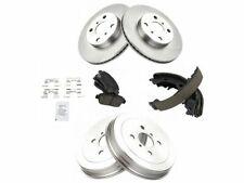 Front and Rear Brake Pad Rotor Shoe Drum Kit For 04-06 Scion xA xB Wv91X5 (Fits: Scion xA)