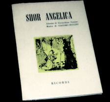 suor Angelica livret seul Forzano opéra Puccini 1957