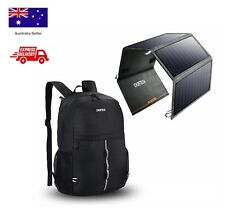 CHOETECH 24W Battery Solar Iphone Charger Compatible with USB Phone Devices