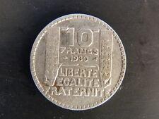 PIECE MONNAIE FRANCE 10 Francs TURIN 1930 ARGENT SILVER trés bon état