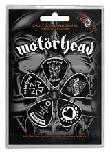 Motörhead Plektrum Set Let There Be Rock 5 Plectrum Set Guitar Picks Motorhead