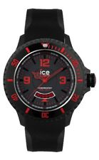 Hielo Surf Reloj Ice Watch Negro Red Extra Big di.br.xb.r.11 Rojo para buceo