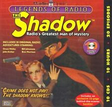 Legends of Radio : The Shadow (CD / Hardcover) 20 hours of shows