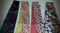 NEW Coach Signature Silk Ponytail Scarf - Multicolor *Pick Your Style