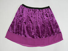 Skirt Purple Shiny X Large XL Lottie and Holly Womens