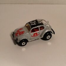 Lesney Matchbox Superfast Volkswagen Drag Bug Hi Ho Silver Hong Kong 1971 Base