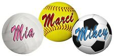 Softball Soccer Volleyball Decal Bumper Sticker Personalize Gifts Girls Boys