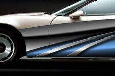 RACE CAR GRAPHICS Vinyl Wrap IMCA SCCA Dirt Racing Side stripes Dirt Truck 2012