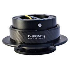 NRG 6-Hole Universal GEN 2.5 QUICK RELEASE KIT BLACK BODY & CARBON FIBER RING
