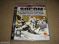SOCOM CONFRONTATION SOLUS for SONY PLAYSTATION 3 PS3 Boxed Game Disc Instruction