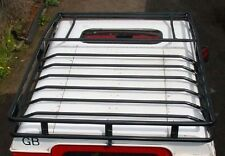 Defender 110 Expedition Roof Rack - Black Powder Coated