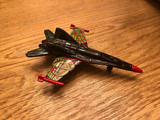 2001 MATCHBOX SKY BUSTERS Attack Jet AIRLINER DIE-CAST AIRPLANE Missing Hood