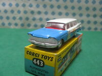 Vintage -  PLYMOUTH Suburban U.S.Mail  -1/43 Corgi toys 443 - Made in Gt.Britain