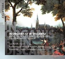 Psallentes and Hendrik Vanden Abeele w/ Ensemble Utopia Luc Ponet - [CD]