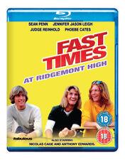 Fast Times at Ridgemont High Blu-Ray (2017) Sean Penn, Heckerling (DIR) cert 18