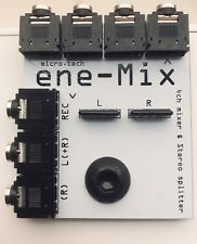 Mixer for Ikea Eneby speaker 4 channel stereo Teenage Engineering Korg Volca