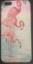 iPhone6 Plus Case Hybrid Soft Cover Carton Flamingo Shockproof Ultra Thin Slim