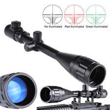 illuminated Optical Gun Scope  6-24x50 AOEG Hunting Rifle Scope Red Green Dual