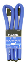 Flexi Rod Wraps 43 cm 17 in (environ 43.18 cm) Sea Beach Caster boat Pier Rod Rest Rail Support Band