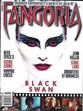Fangoria magazine Black Swan Dead Space Vampire Circus Daughters of Darkness