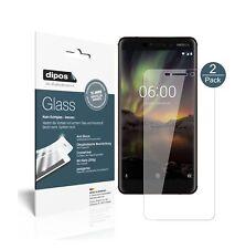 2x Nokia 6 (2018) Screen Protector Flexible Glass 9H dipos