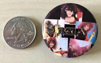 Vintage 1984 80's Band Ratt Hair Metal Pinback Button #34814