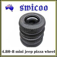 "4.80-8"" skinny wheel for Quad Bike Buggy mini jeep hotrod project"
