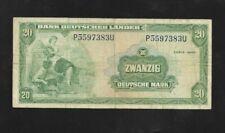 20 Deutsche Mark Serie 1949  Eiamaya