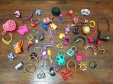 Lot of ☆ Monster High Ever After High DOLL ACCESSORIES ONLY Purse Belt Jewelry