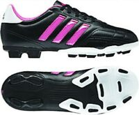 Adidas Children's Goletto IV TRX FG Jr. Soccer Cleats New Black/Pink G65054