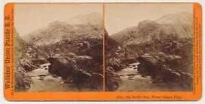 UTAH SV - UPRR - Weber Canyon - Devils Gate - Watkins 1870s