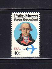 ESTADOS UNIDOS/USA 1980 MNH SC.C98 Air mail,Philip Mazzei