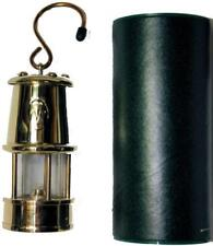 Welsh Miners Lamp (Brass) - Small 12b - Real Working Lamp Replica