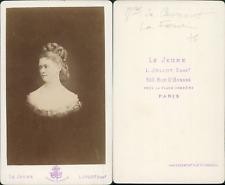 Marquise de Caumont-La Force CDV vintage albumen,  Tirage albuminé  6,5x10,5
