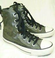 Converse Chuck Taylor All Star Hi-tops Trainers Khaki Green 4UK/37 EUR -0124