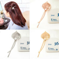 Women Pearl Flower Hair Clip Barrette Hairpin Bobby Pin Jewelry Hair Accessories