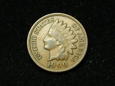 SUMMER SALE!!  XF+ 1900 INDIAN HEAD CENT PENNY w/ DIAMONDS & FULL LIBERTY #65s