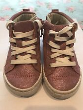 CLARKS Shoes Trainers Hi Tops Girls Toddlers 4F