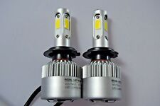 SEAT IBIZA 2002-08 Twin 2x H7 Car LED Headlight Turbo Cool Fan Bulbs PURE WHITE