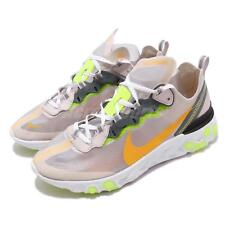 huge selection of 3f019 d342e Nike React Element 87 Orewood Brown Orange Mens Running Shoes AQ1090-101
