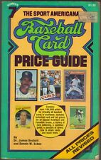 1985 SPORTS AMERICANA BASEBALL CARD PRICE GUIDE #7 BY BECKETT & ECKES PC