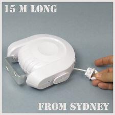 1 x Clothes Line , Dryer ,  Retractable Clothesline , Airer  15m SYD