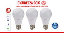 Lampadine Led con sensore crepuscolare - 10W E27 - 806 Lumen - 4000 K - 3 PEZZI