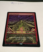 Magic the Gathering MTG Lightning Bolt 086 x1 FOIL Card NM/M Secret Lair