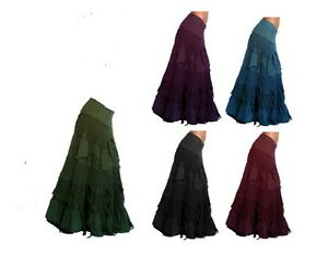 SteamPunk Wrap Skirt Gypsy, Hippy, Festival,Pixie ,psy, Flamenco,Bohemian, Boho